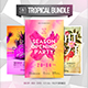 3in1 Tropical Flyer Bundle - GraphicRiver Item for Sale