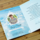 Peace Funeral Thank You Card Template - GraphicRiver Item for Sale
