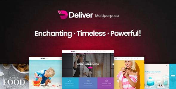 Deliver   Responsive Multi-Purpose HTML Template