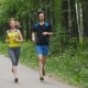 Happy Couple Jogging In The Park,  - VideoHive Item for Sale