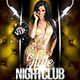 Style Nightclub (Flyer Template 4x6) - GraphicRiver Item for Sale