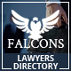 Falcons - Directory for Lawyers & Law Firms Nulled