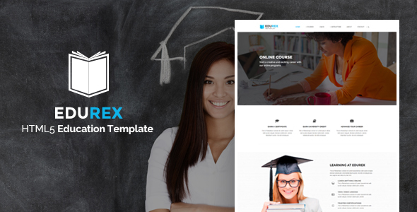 EduRex – Education & Courses HTML Template