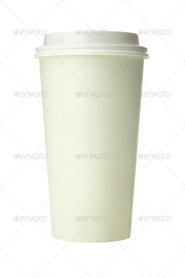 Takeaway coffee Cup - Stock Photo - Images