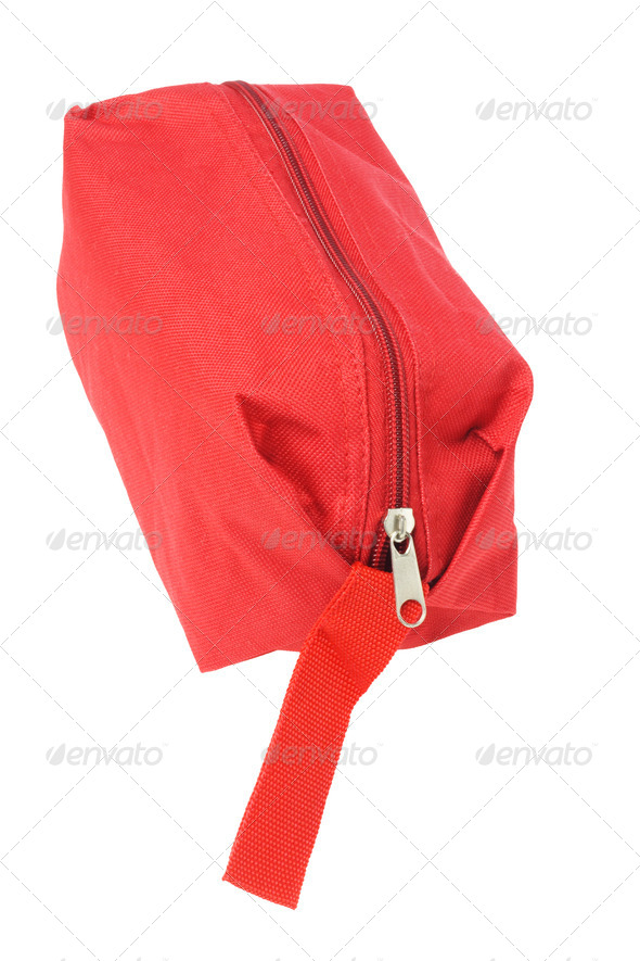 Red Hand Bag - Stock Photo - Images