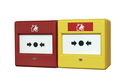 Close up of a fire alarm system