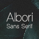 Albori Sans-Serif - GraphicRiver Item for Sale