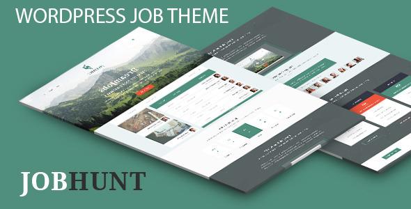 JobHunt job Board WordPress Theme