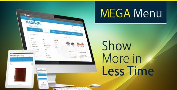 Magento Mega Menu - CodeCanyon Item for Sale