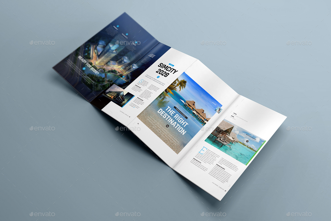 Delicieux 4xDL Double Gate Fold Brochure Mock Up 5   Brochures Print ·  Screen/1242324 Screen/2 Screen/51543254 Screen/6 ...