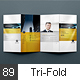 4xDL Double Gate Fold Brochure Mock-up 6 - GraphicRiver Item for Sale