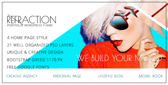 Refraction —Multipurpose HTML Template