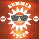 Summer/Holiday Title Pack 2 - VideoHive Item for Sale