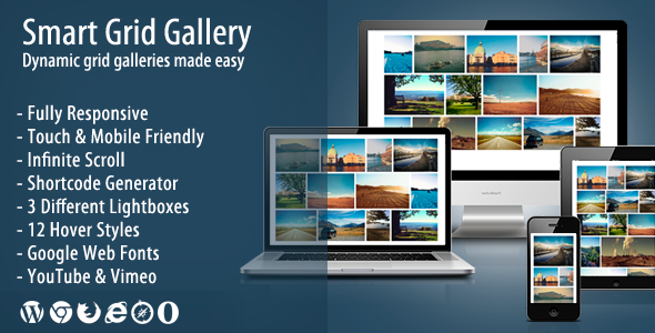 Smart Grid Gallery - Responsive WordPress Gallery Plugin - CodeCanyon Item for Sale