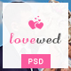 Lovewed - Event & Wedding PSD Template Nulled
