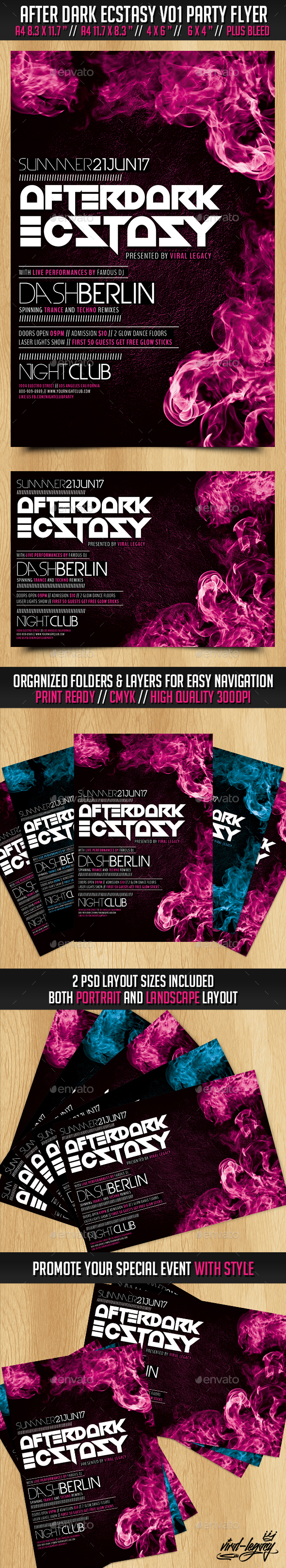 After Dark Ecstasy Volume 01 - Clubs & Parties Events