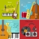 Flat Music Icon Set - GraphicRiver Item for Sale