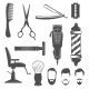 Barber Icon Set - GraphicRiver Item for Sale