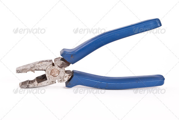 Old pliers - Stock Photo - Images