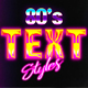 Back 80's Text Style - GraphicRiver Item for Sale