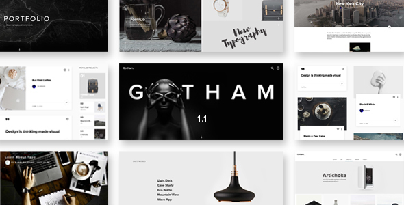 Gotham – Responsive Creative WordPress Theme