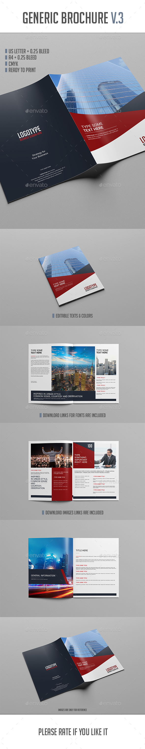 Brochure Template Vol.3 - Brochures Print