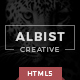 ALBIST - Creative Multipurpose HTML5 Template  Nulled