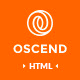 OSCEND - Creative Agency  HTML Template Nulled