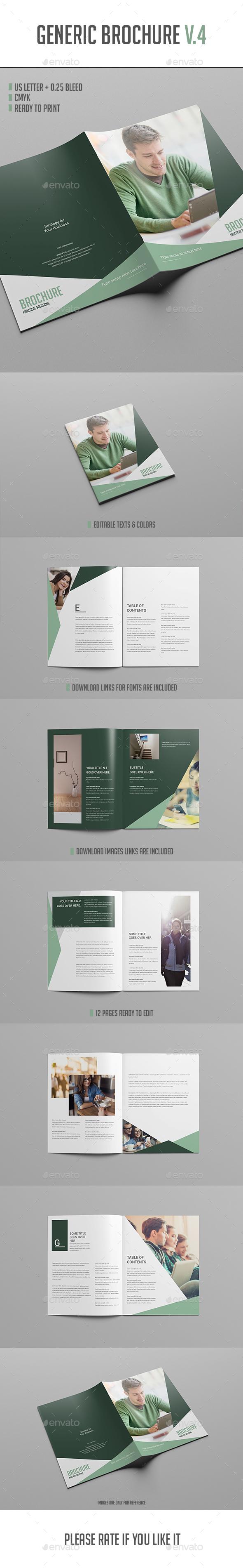 Brochure Template Vol.4 - Brochures Print