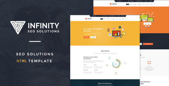 Infinit – High Performance HTML SEO Template
