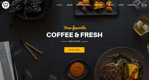 Top Premium Joomla Catering Templates