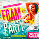 Foam Party Flyer Horizontal - GraphicRiver Item for Sale