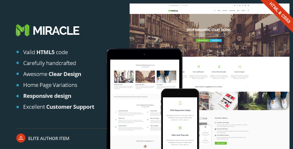 Miracle - Multi-Purpose WordPress Premium Theme