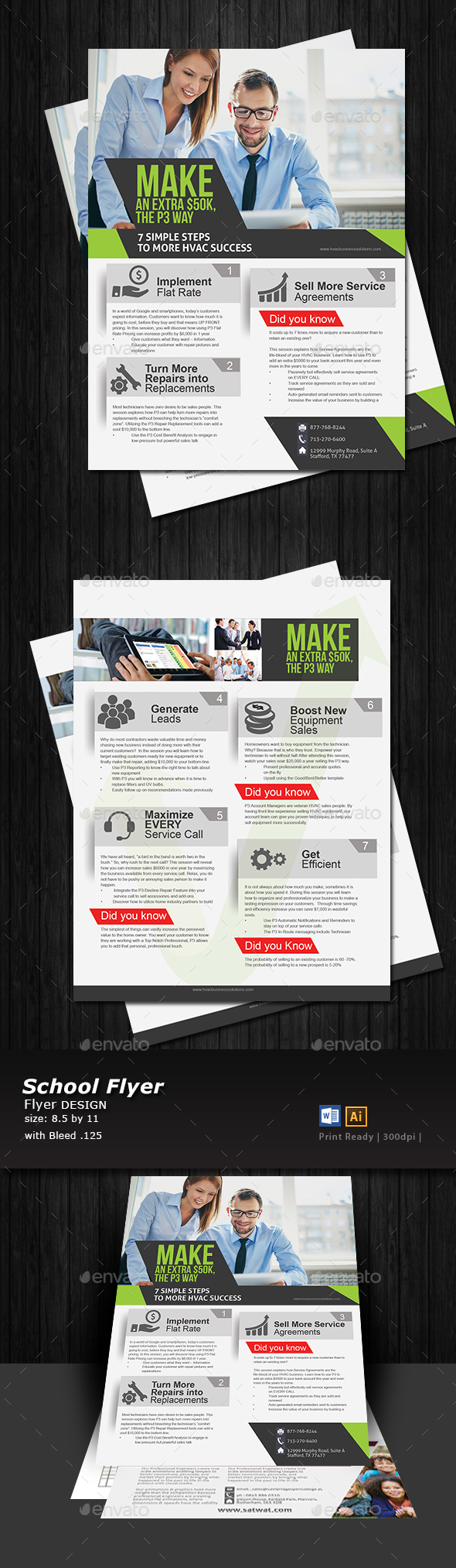 Business Leads Generator Flyer  - Corporate Flyers