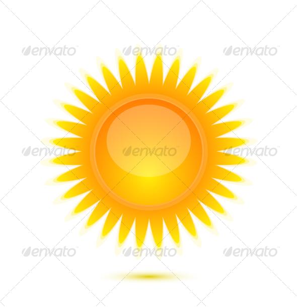 Sun icon - Nature Conceptual