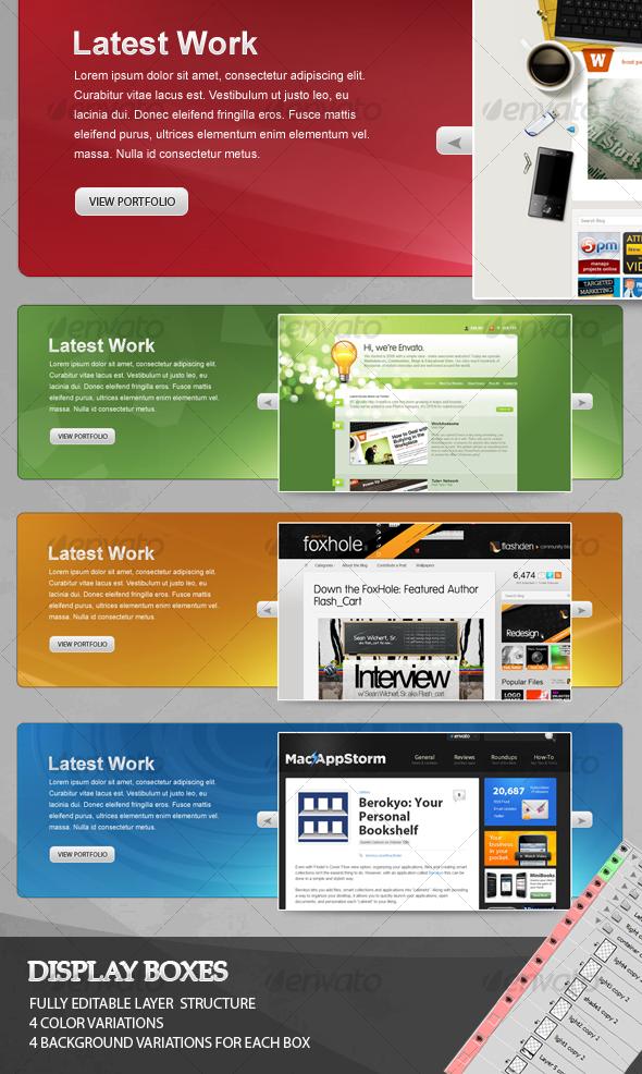 Web Slider Box - Web Elements