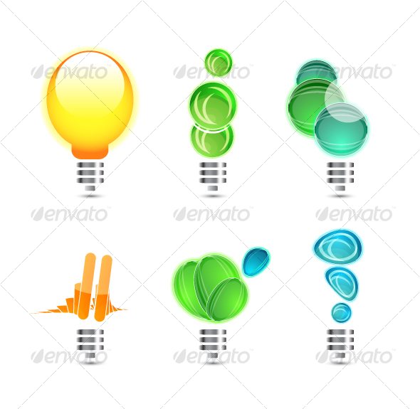 Power concepts. Icons - Technology Conceptual