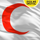 Red Crescent Flag 4K - VideoHive Item for Sale