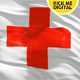 Red Cross Flag 4K - VideoHive Item for Sale