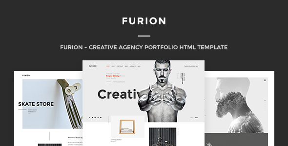 Furion – A Responsive HTML Template for Creative Agencies