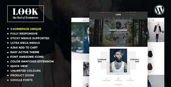 Look – Responsive Multi-Purpose Woocommerce WordPress Theme