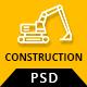 Koncrete - Construction & Building PSD Template