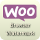 WooPlugins - Woocommerce Browser Watermark - CodeCanyon Item for Sale