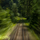 Train Moving Along Railroads In Deep Mountains 1 - VideoHive Item for Sale