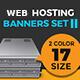 Web Hosting Banner Set II - GraphicRiver Item for Sale
