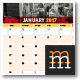 2017 Calendar Planner with Poster - GraphicRiver Item for Sale