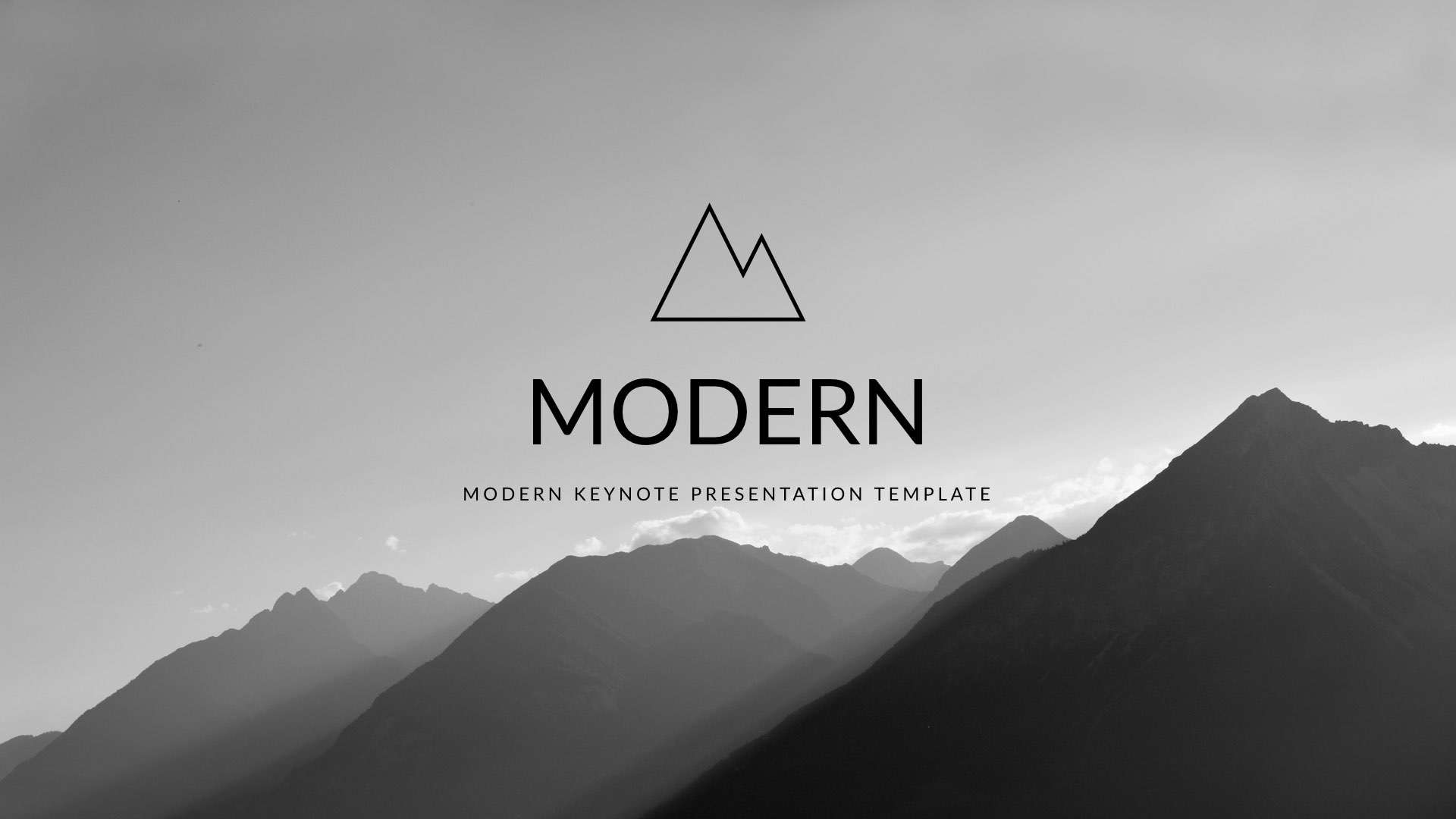 modern clean trend keynote template by 5yue graphicriver