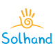Solar hand logo - GraphicRiver Item for Sale
