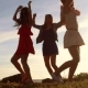 Group Of Happy Women Or Girls Dancing On Beach 55 - VideoHive Item for Sale