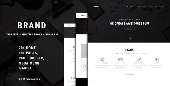 Brand. - Multipurpose Business Template